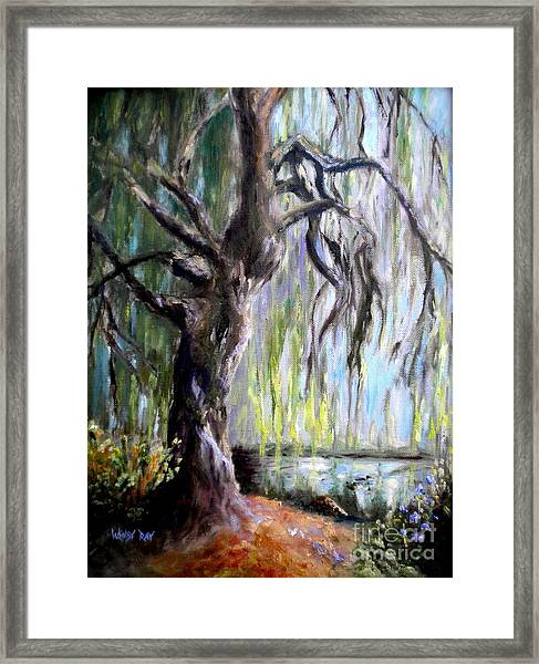 Plein Air At Fort Dent Park Framed Print