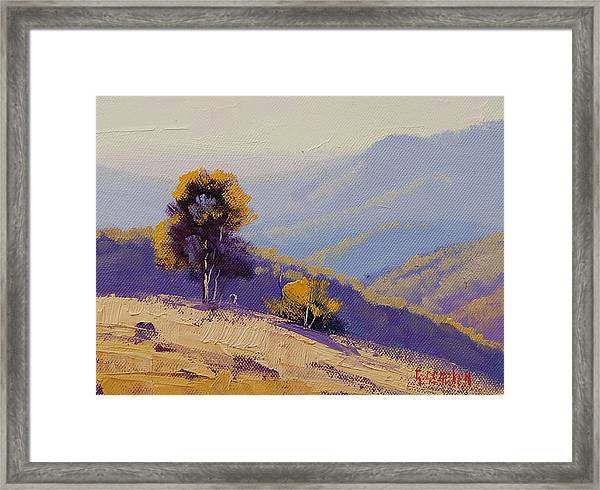 Plein Air  Study Framed Print