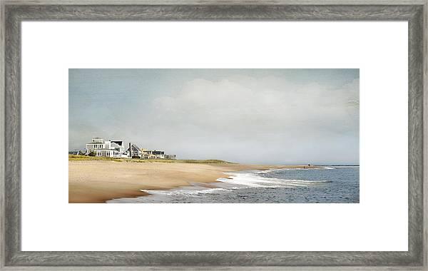 Plum Island Picnic Framed Print