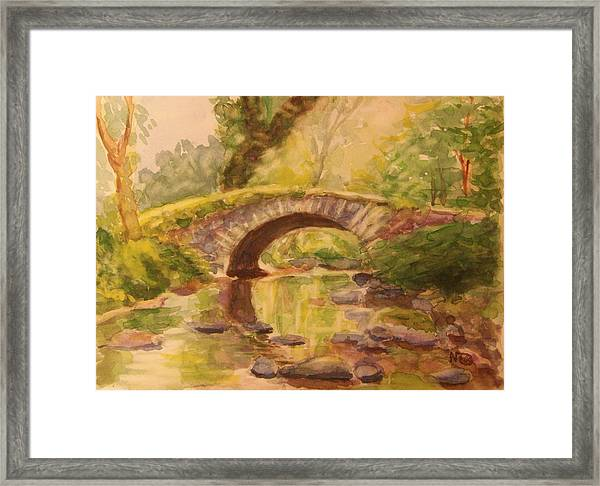 Pocantico River Ny Framed Print