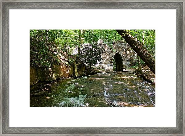 Poinsett Bridge Framed Print
