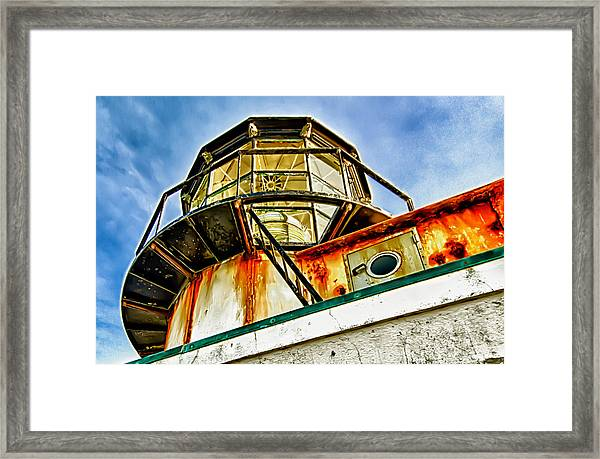 Framed Print featuring the photograph Point Bonita Lighthouse by Robert Rus