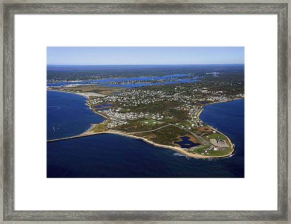 Point Judith, Rhode Island Framed Print by Dave Cleaveland