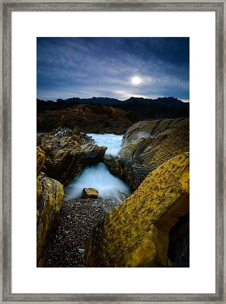 Point Lobos Big Sur Sea Arch Framed Print