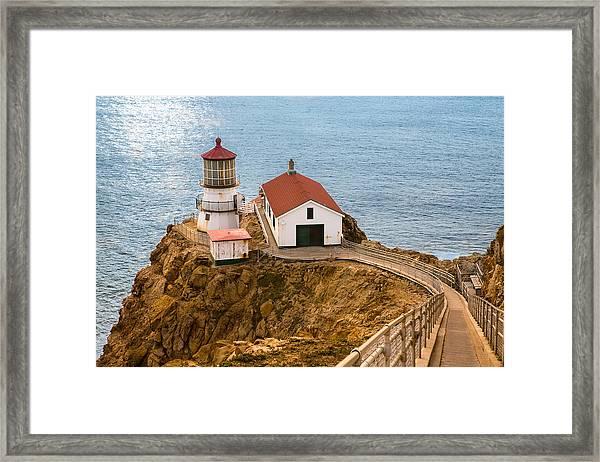 Point Reyes Framed Print