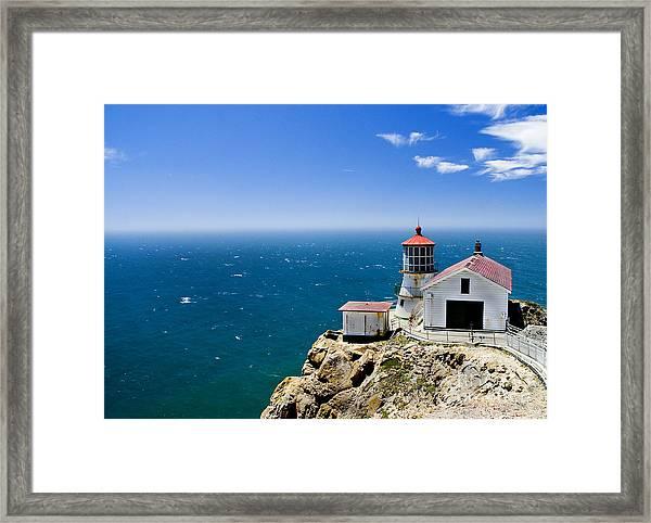 Point Reyes Lighthouse California Framed Print