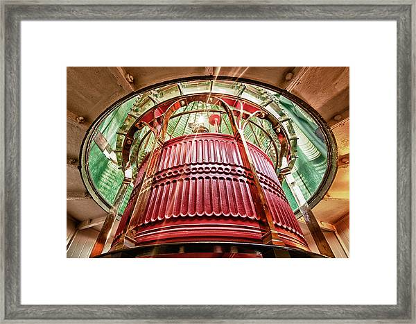 Framed Print featuring the photograph Point Reyes Lighthouse by Robert Rus