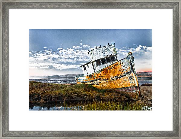 Framed Print featuring the photograph Point Reyes by Robert Rus