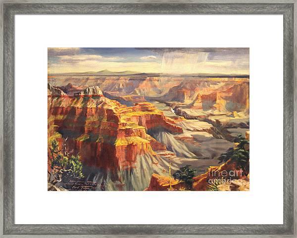 Point Sublime - Grand Canyon Az. Framed Print