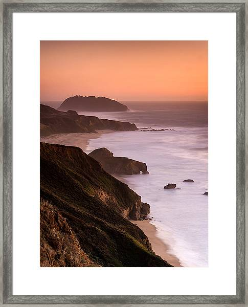 Point Sur Lighthouse Framed Print