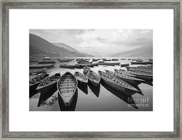 Pokhara Paradise Framed Print