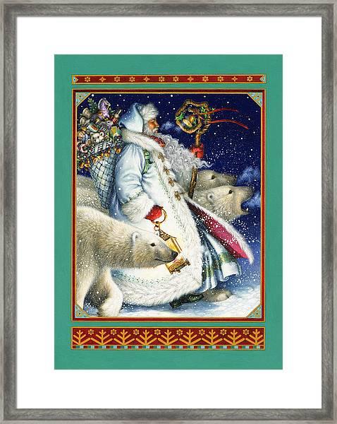 Polar Magic Framed Print