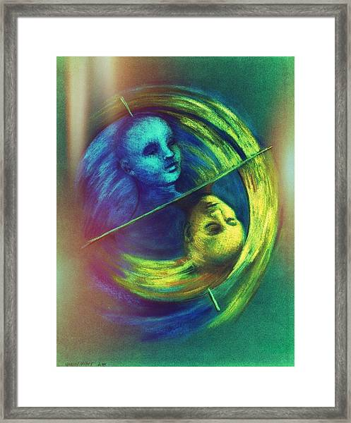 Polar Shift Number Three Framed Print