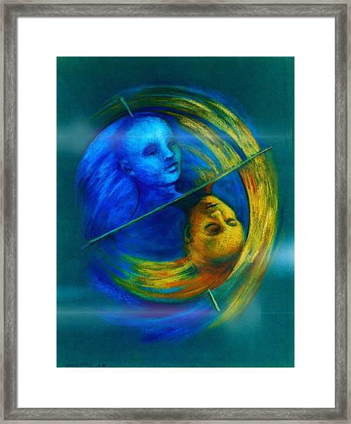 Polar Shift Number Two Framed Print