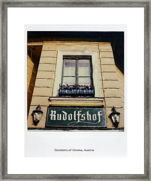 Framed Print featuring the photograph Polaroid Sx-70 Hand Manipulated 4 by Catherine Sobredo