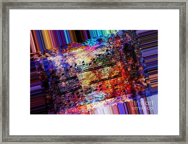 Polychromatic Postlude 1 Framed Print