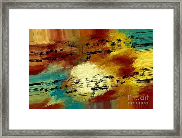 Polychromatic Postlude 3 Framed Print