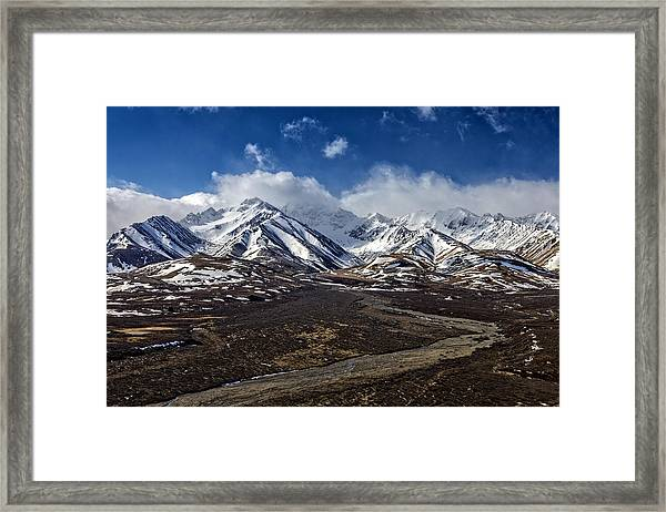 Polychrome Pass Framed Print