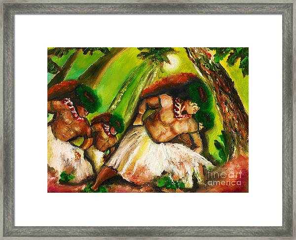 Polynesian Chant Framed Print