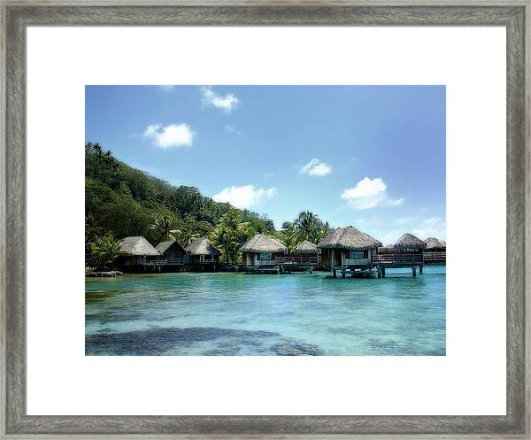 Polynesian Tranquility Framed Print