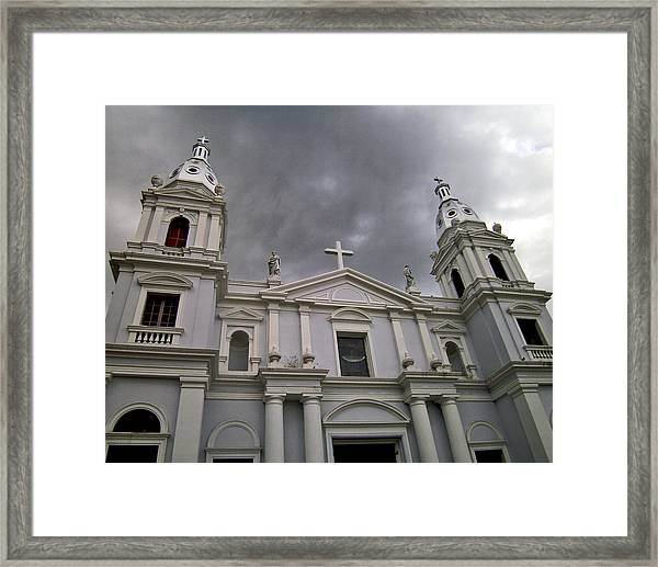 Ponce Cathedral Framed Print