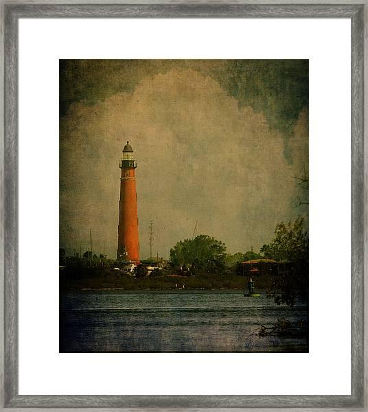 Ponce De Leon Light House Framed Print