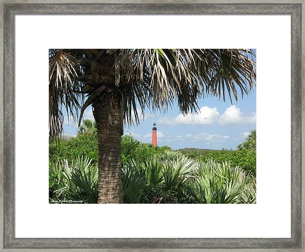 Ponce Inlet Lighthouse Florida 2 Framed Print