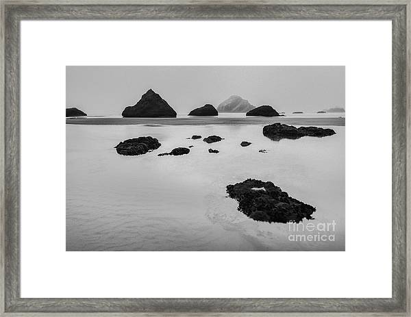 Pond Divided Framed Print