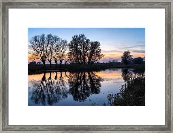 Ponds In Lomna 2 Framed Print