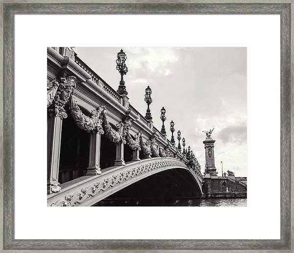 Pont Alexandre IIi Framed Print