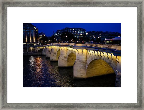 Pont Neuf Bridge - Paris - France Framed Print