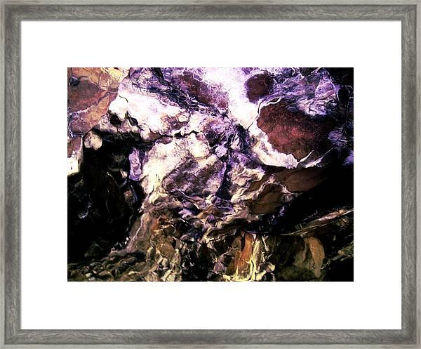 Pony Cave Molting Framed Print