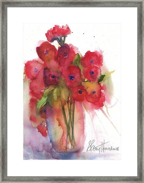 Poppies Framed Print