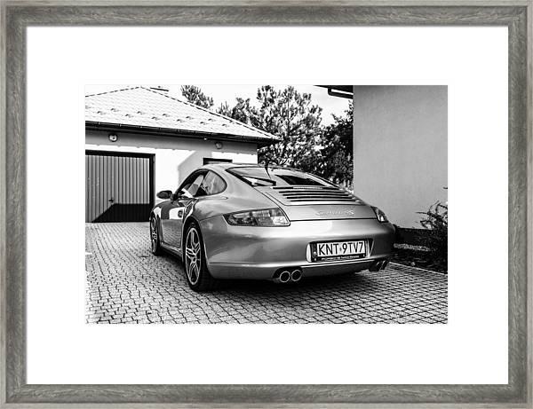 Porsche 911 Carrera 4s Framed Print