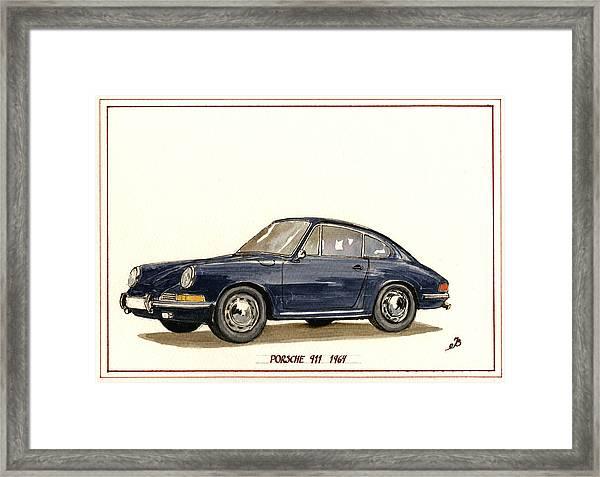 Porsche 911 Classic Framed Print