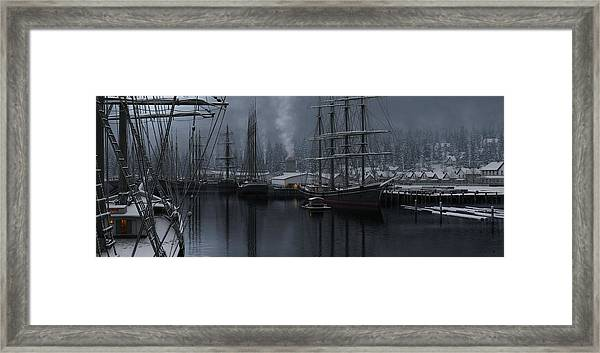 Winter's Warmth Framed Print