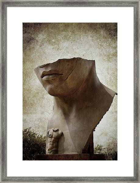 Porta Italica Framed Print