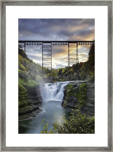 Portage Bridge Framed Print