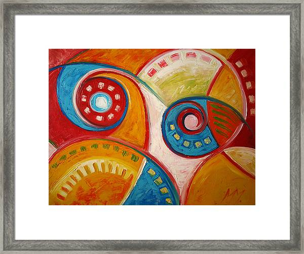 Portal Space Framed Print by Magdalena Mirowicz