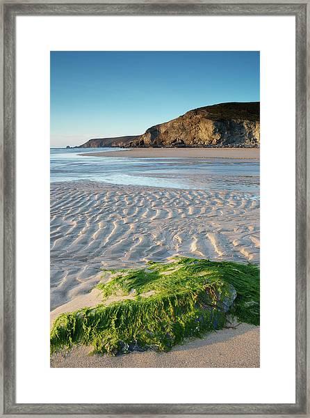 Porthtowan Framed Print by © Ian Lewis