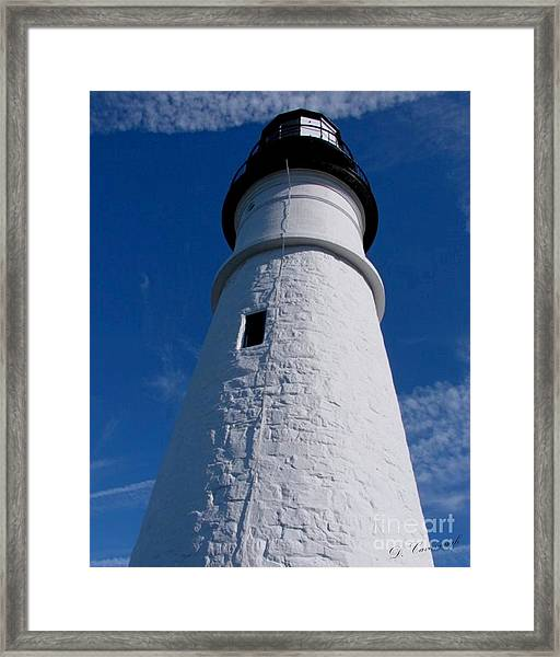 Portland Head Framed Print