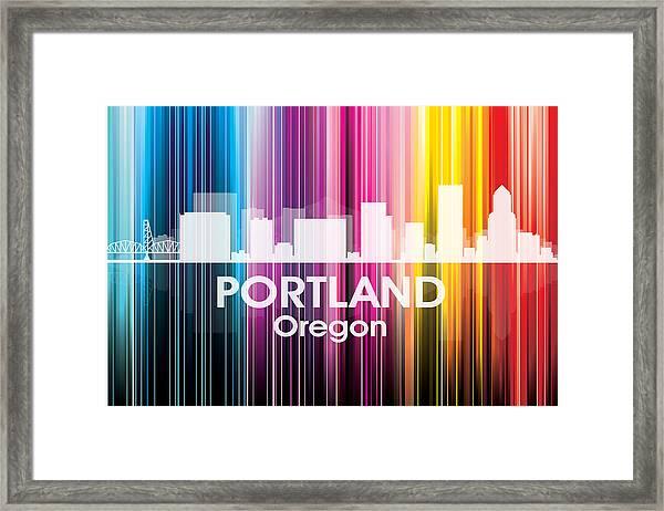 Portland Or 2 Framed Print