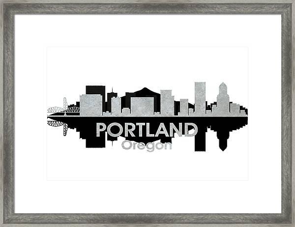 Portland Or 4 Framed Print