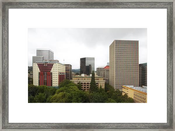 Portland Oregon Framed Print