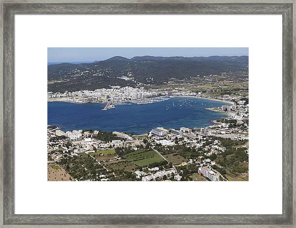 Portmany Bay, Sant Antoni De Portmany Framed Print by Xavier Durán