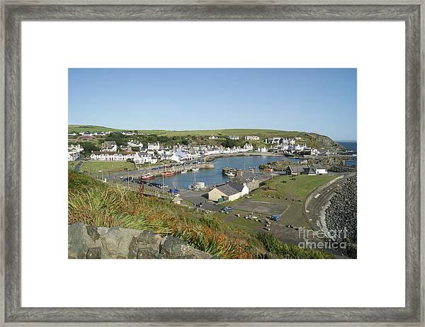 Portpatrick Harbour Framed Print