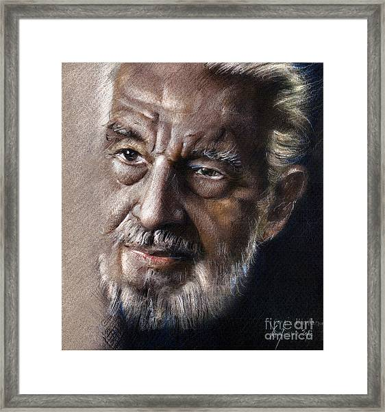 Portrait - Art Of Drawing Framed Print