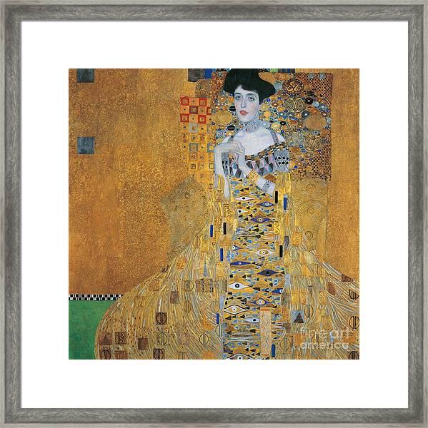 Portrait Of Adele Bloch-bauer I Framed Print