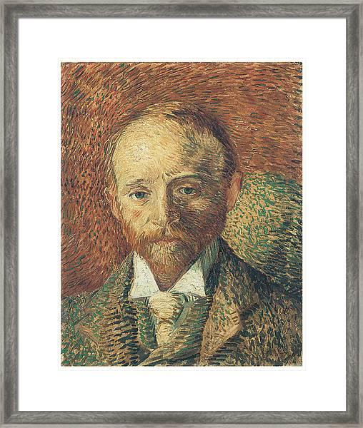 Portrait Of Alexander Reid Framed Print