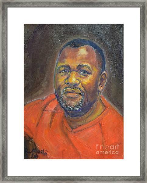 Portrait Of Felly Framed Print